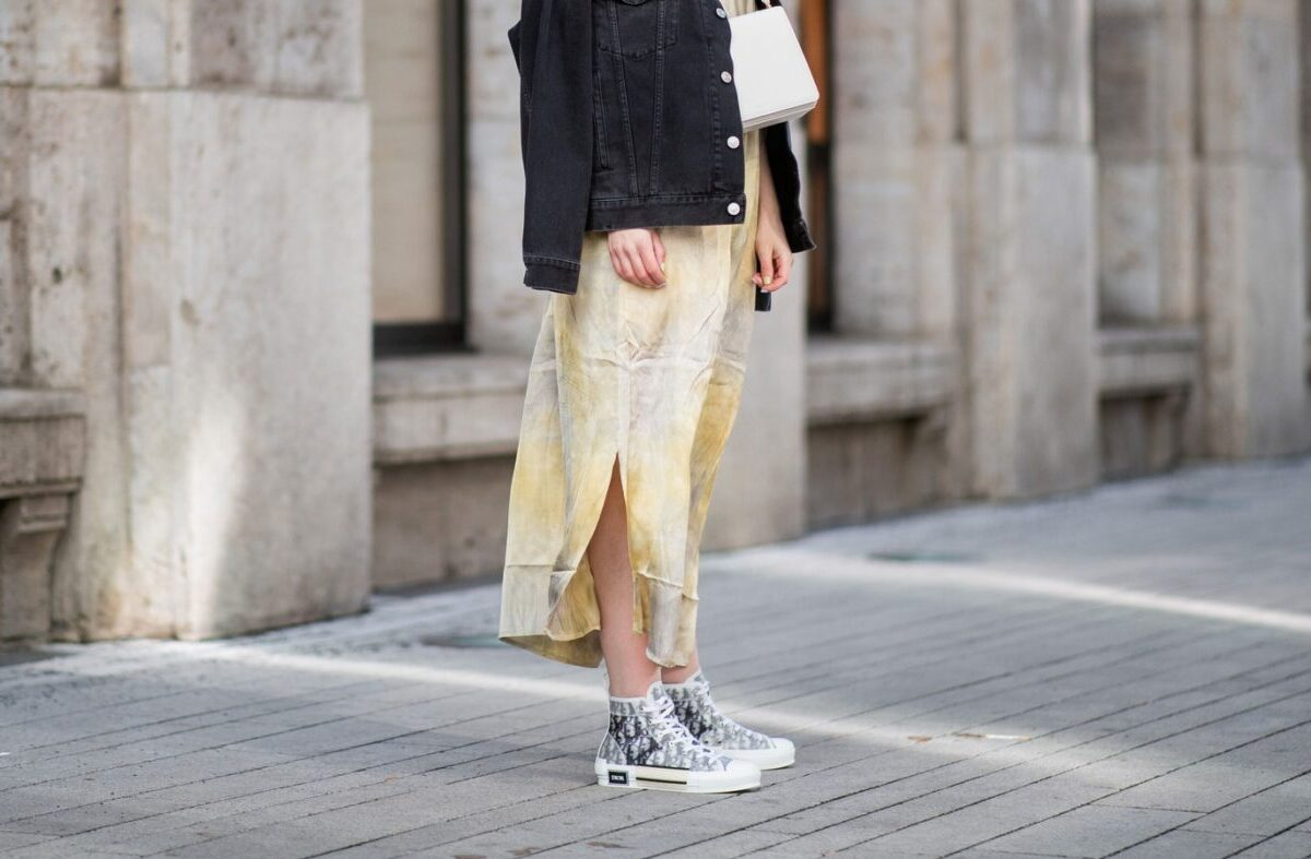 Being Stylish With Sneakers and Dresses or a Skirt